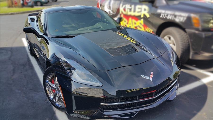 Corvette Gloss Black